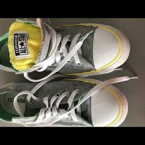 Converse all star ( Gray,Peach, yellow, green)